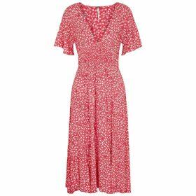 Free People In Full Bloom Floral-print Midi Dress