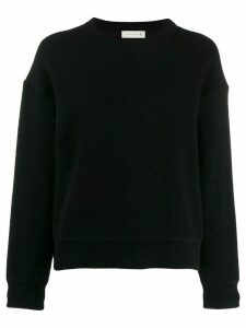 Mackintosh Black Cashmere Blend crew neck Sweater WCS-1003