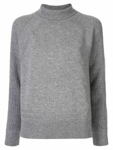 Paule Ka ribbed turtle neck - Grey