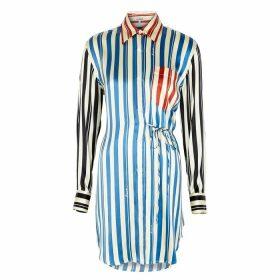 Loewe Striped Silk Shirt