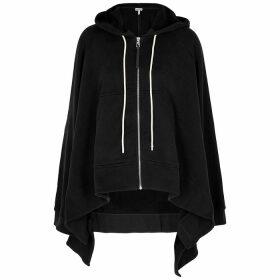 Loewe Black Hooded Cotton Sweatshirt