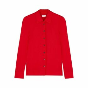 Rosetta Getty Red Jersey Shirt