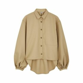 Totême Novale Sand Balloon-sleeve Shirt
