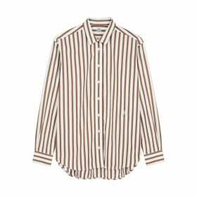 Totême Capri Striped Poplin Shirt