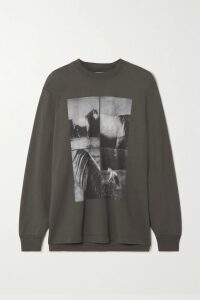 Alexander Wang - Embellished Leather Shirt - Black
