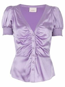 Cinq A Sept Eugenia blouse - PURPLE