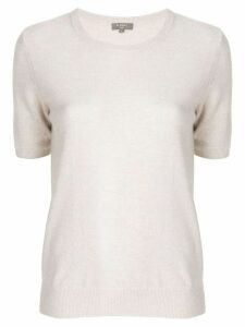 N.Peal round neck T-shirt - NEUTRALS