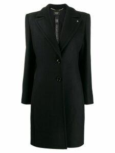 LIU JO mid-length single-breasted coat - Black