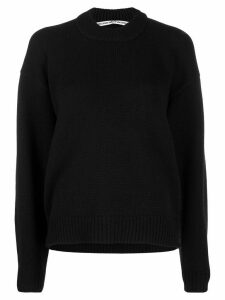 Alexander Wang rear zip detail jumper - Black
