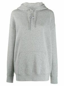Nike embroidered Swoosh hoodie - Grey
