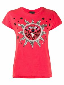 Just Cavalli Sun print T-shirt - Red