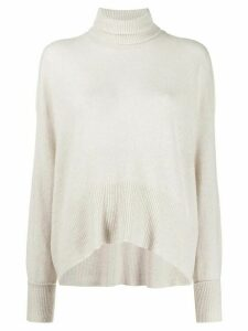 Maison Flaneur roll-neck sweater - NEUTRALS