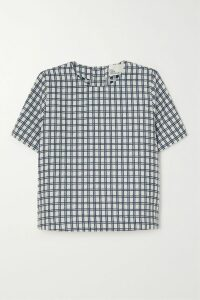 Giambattista Valli - Ruffled Floral-print Silk-chiffon Top - Black