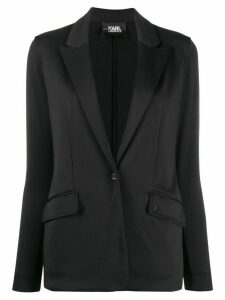 Karl Lagerfeld Rue St-Guillaume jersey blazer - Black