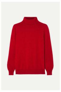 &Daughter - Casla Cashmere Turtleneck Sweater - Red