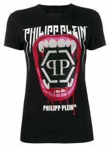 Philipp Plein Rock PP slim-fit T-shirt - Black