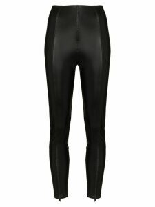 Lisa Marie Fernandez Karlie stretch-jersey leggings - Black
