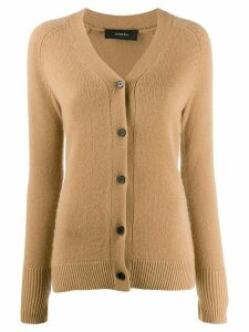 Joseph slim-fit cashmere cardigan - Brown