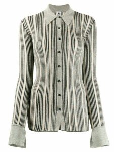 M Missoni metallic knit shirt - Grey