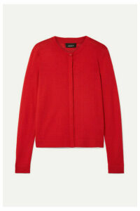 Akris - Cashmere And Silk-blend Cardigan - Red