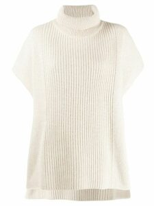 Joseph oversized cashmere knitted top - NEUTRALS