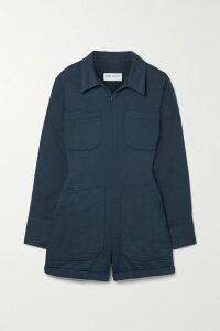 Miu Miu - Ruffled Leopard-print Silk-georgette Blouse - Brown