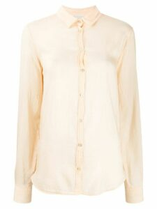 Forte Forte My Shirt crinkle shirt - NEUTRALS