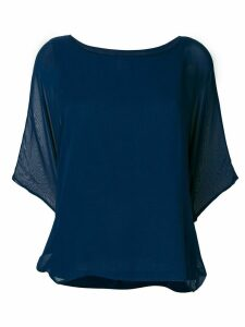 Sottomettimi loose fit blouse - Blue