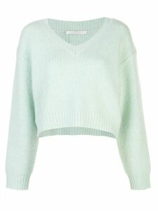 John Elliott oversized cropped jumper - Green