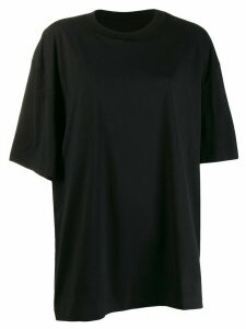 Maison Margiela oversized asymmetric T-shirt - Black