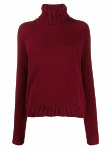 Filippa K Kathleen roll-neck jumper - Red
