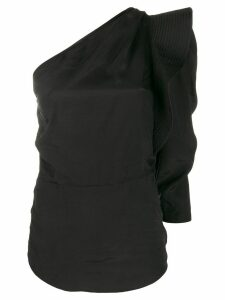 Isabel Marant Étoile deconstructed one-shoulder top - Black