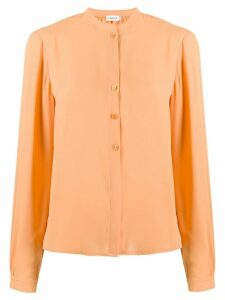 Filippa K Adele button down blouse - ORANGE