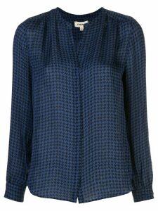 L'Agence Bardot blouse - Blue