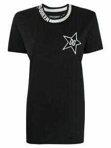 Dolce & Gabbana DG Star Queen T-shirt - Black