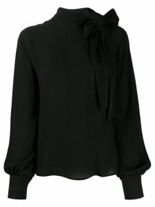 Valentino pussybow blouse - Black
