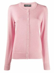 Dolce & Gabbana glitter effect cardigan - PINK