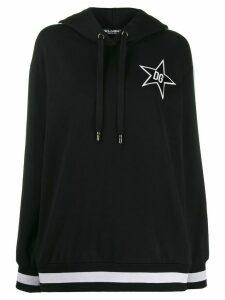 Dolce & Gabbana DG Star hoodie - Black