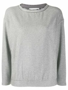 Fabiana Filippi glitter jumper - Grey