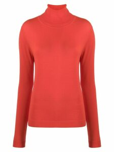 Aspesi roll-neck jumper - ORANGE