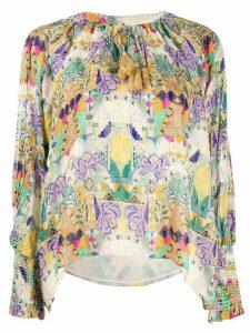 Chufy Inka print blouse - NEUTRALS