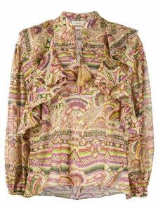 Chufy Nina print blouse - NEUTRALS