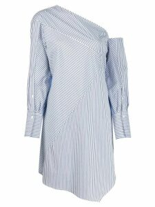 3.1 Phillip Lim striped patchwork tunic - Blue