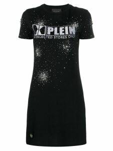 Philipp Plein longline logo T-shirt - Black