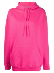 Balenciaga logo printed hoodie - PINK