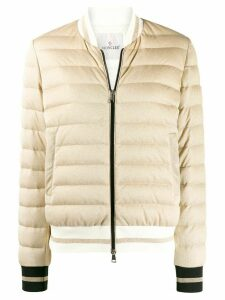 Moncler Flavienne feather down jacket - GOLD