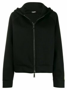 Dsquared2 full-zipped hoodie - Black
