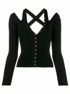 Versace Jeans Couture knitted top - Black