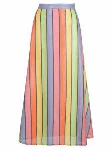 Olivia Rubin high-waist striped skirt - Multicolour