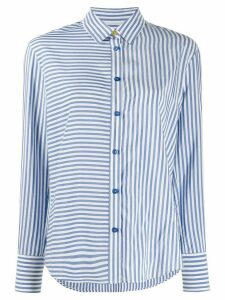 PS Paul Smith multi-striped shirt - Blue